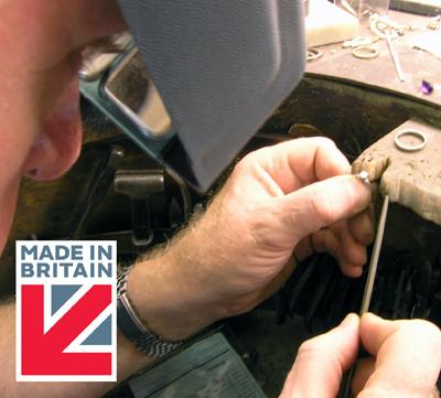 Jewellery repairs & alterations Birmingham Jewellery Quarter
