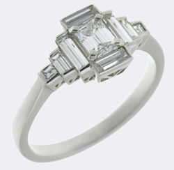 Art deco style rings
