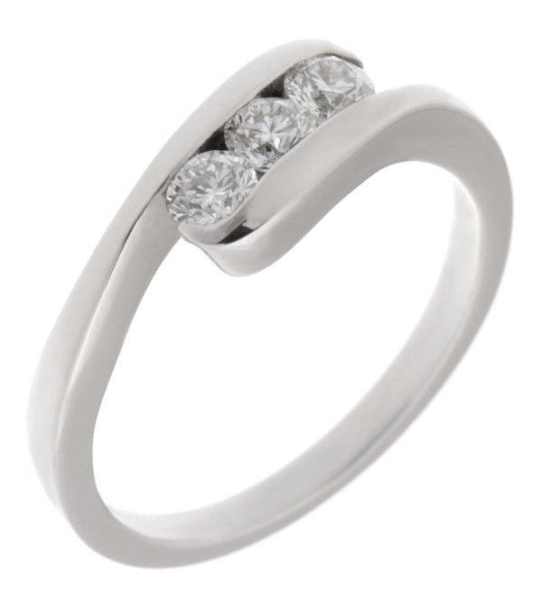 3aab873d1531f Thorn modern crossover round brilliant cut diamond trilogy ring